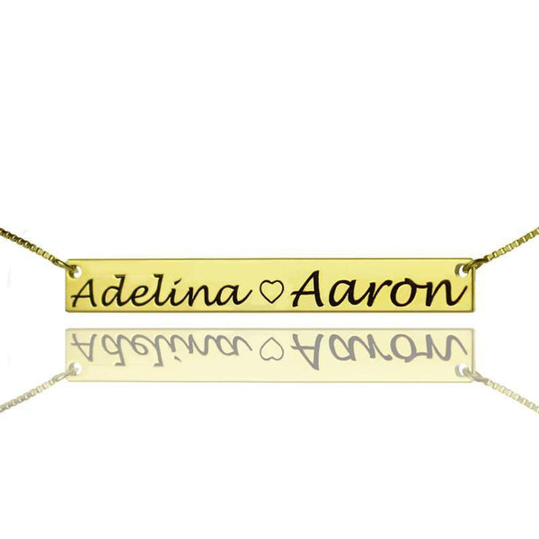 Fashion Jewelry Personalized Necklace for Couple/ Fashion Jewelry - Charmerry