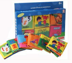 Toy Baby Fabric Books for Early Education (6-count) - Charmerry