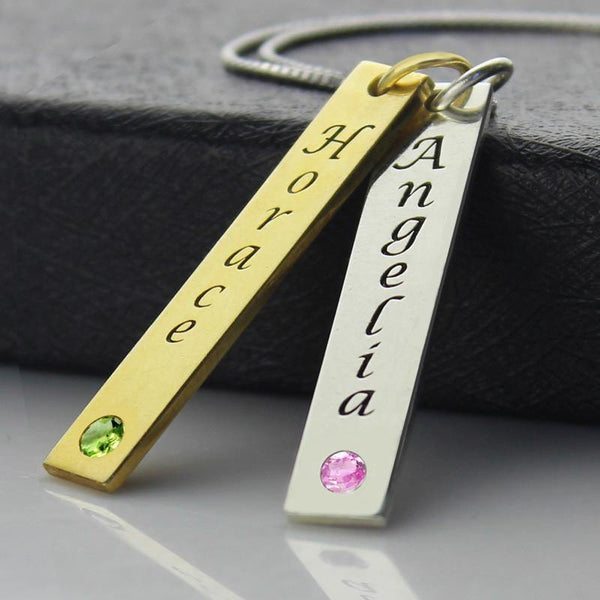 Fashion Jewelry Couple Name Necklace/ Personalized Fashion Jewelry - Charmerry