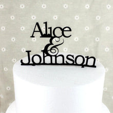 Load image into Gallery viewer, Personalized Cake Topper -Personalised Wedding Cake Decoration (Anniversary) - CHARMERRY