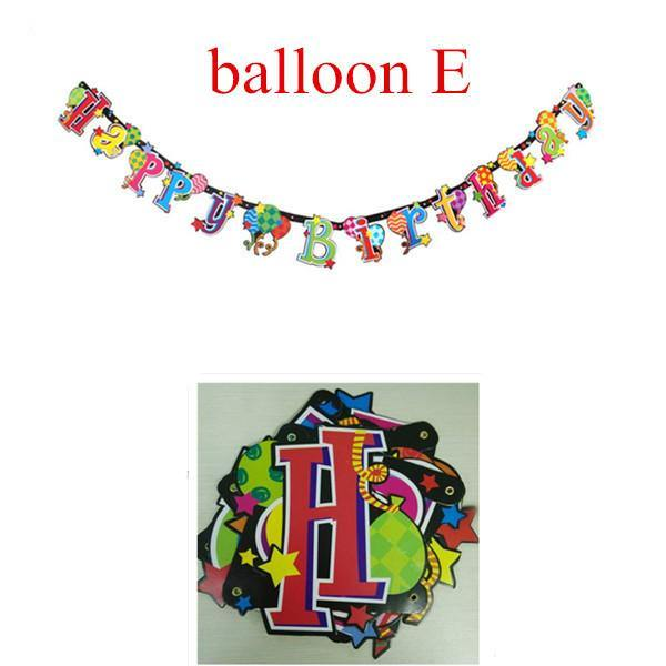 Party Supplies Birthday Banner/ Party Decoration (Happy Birthday) - Charmerry