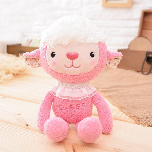 "Sheep Stuffed Animal /Plush Toy Gift (Rag Doll Keychain /Key Ring) [7.8"" /20cm]"