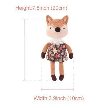 "Squirrel Stuffed Animal /Plush Toy Gift (Rag Doll Keychain /Key Ring) [7.8"" /20cm]"