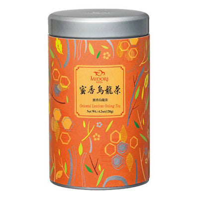 Tea Chinese Oolong Tea -Oolong Loose Leaf Tea /Loose Tea Tin /120g /4.2oz. - Charmerry