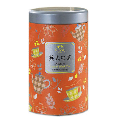Tea English Back Tea -Whole Leaf Black Tea /Full Leaf Tea Tin /120g /4.2oz. - Charmerry