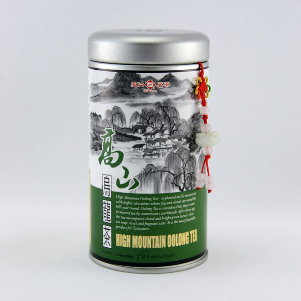 Tea High Mountain Oolong Tea /Chinese Loose Leaf Tea /Loose Tea Tin /50g /1.8oz. - Charmerry