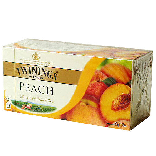 Tea Peach Tea -Twinings Peach Tea 12PK - Charmerry