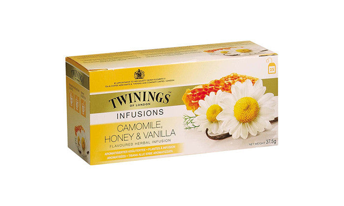 Tea Herbal Tea Bags -Twinings Camomile, Honey & Vanilla Herbal Tea Bags 12PK - Charmerry