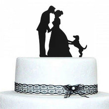 Load image into Gallery viewer, Wedding Cake Topper (Romantic Groom's Hands Around The Bride's Waist) - CHARMERRY