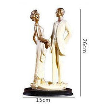 Load image into Gallery viewer, Wedding Gift -Groom Bride Figurine /Cake Topper Figure /Engagement Present - CHARMERRY