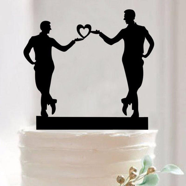 Wedding Cake Topper /Cake Decoration (Gay Couple /Homosexual Love)