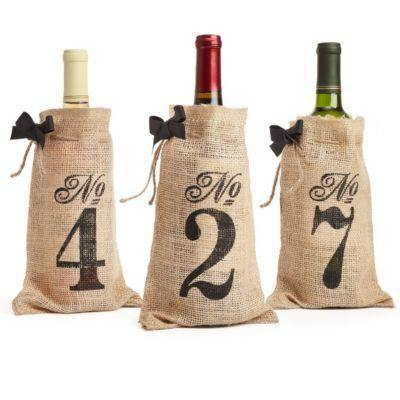 Wedding Table Numbers (Rustic /Vintage /Country Table Sign Decorations) [1-10  Set]