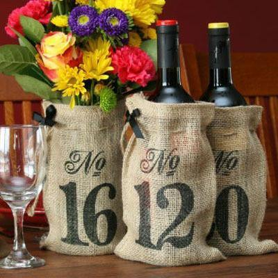 Wedding Table Numbers (Rustic /Vintage /Country Table Sign Decorations) [11-20 Set]