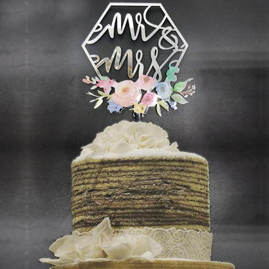 wedding cake toppers classy french chic rustic vintage country style themes decor favors gold silver decoration charmerry a1