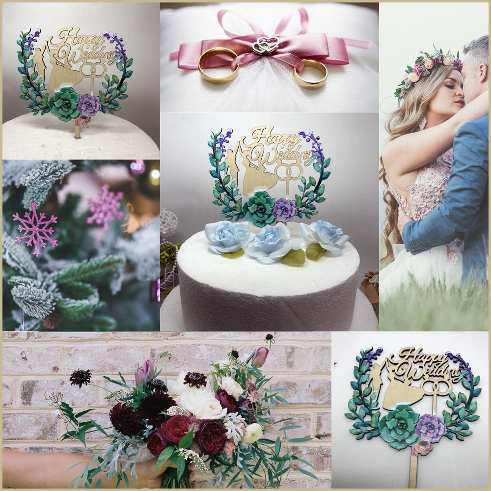 Wedding Cake Toppers | Rustic Vintage Country Style ...