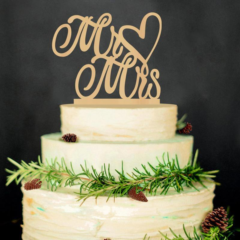 Married Topper Cake We Do