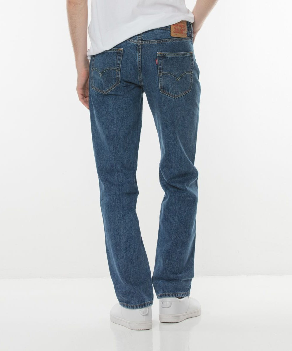 Levi's - 514 Straight Fit Jeans - Medium Stonewash