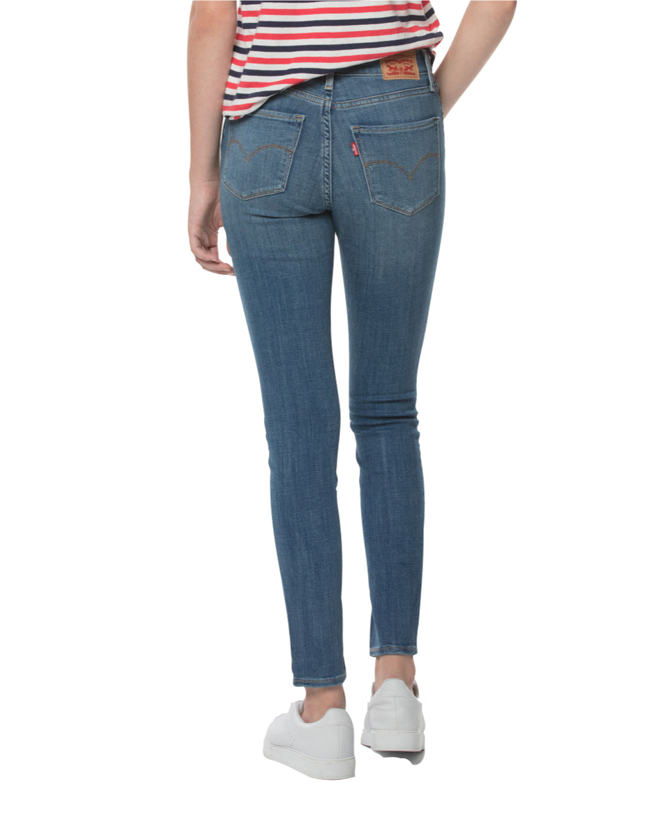 Levi's - 721 High Rise Skinny - Sea Gaze