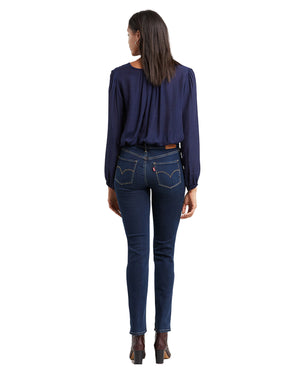 Levi's - 314 Shaping Straight Jeans - Dark Horse