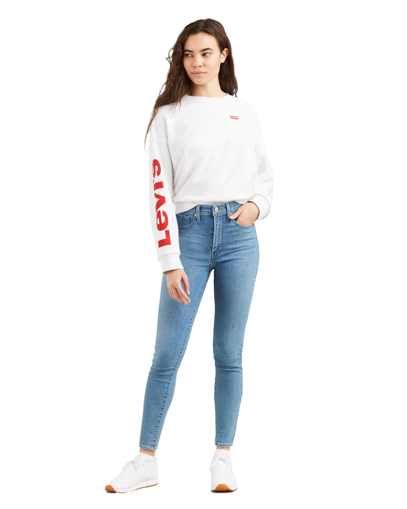 Levi's - Mile High Super Skinny Jeans - Math Club
