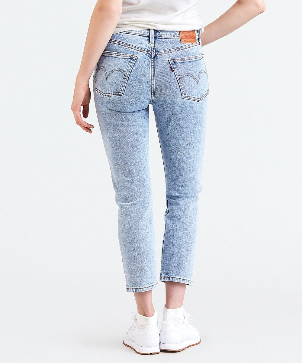 96e09ad1481 Levi's - 501 Original Cropped Jeans - Stone Throw – 88 Jeans
