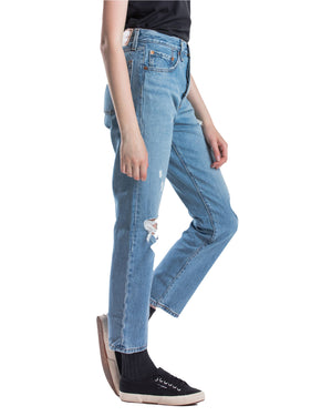 Levi's - 501 Original Cropped Jeans - Authentically Yours