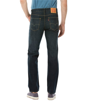 Levi's - 516 Straight Fit Jeans - Dark Petrol