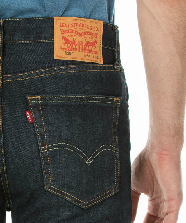 516 Straight Fit Jeans - Dark Petrol