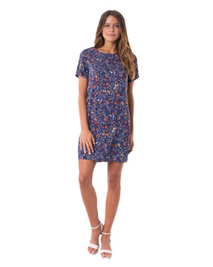 All About Eve - Nadia Tee Dress - Folk Print