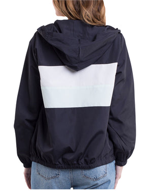 All About Eve - Formation Hoody - Navy and Sea Green