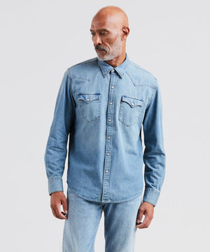 Levi's - Barstow Western Shirt - Red Cast Stone