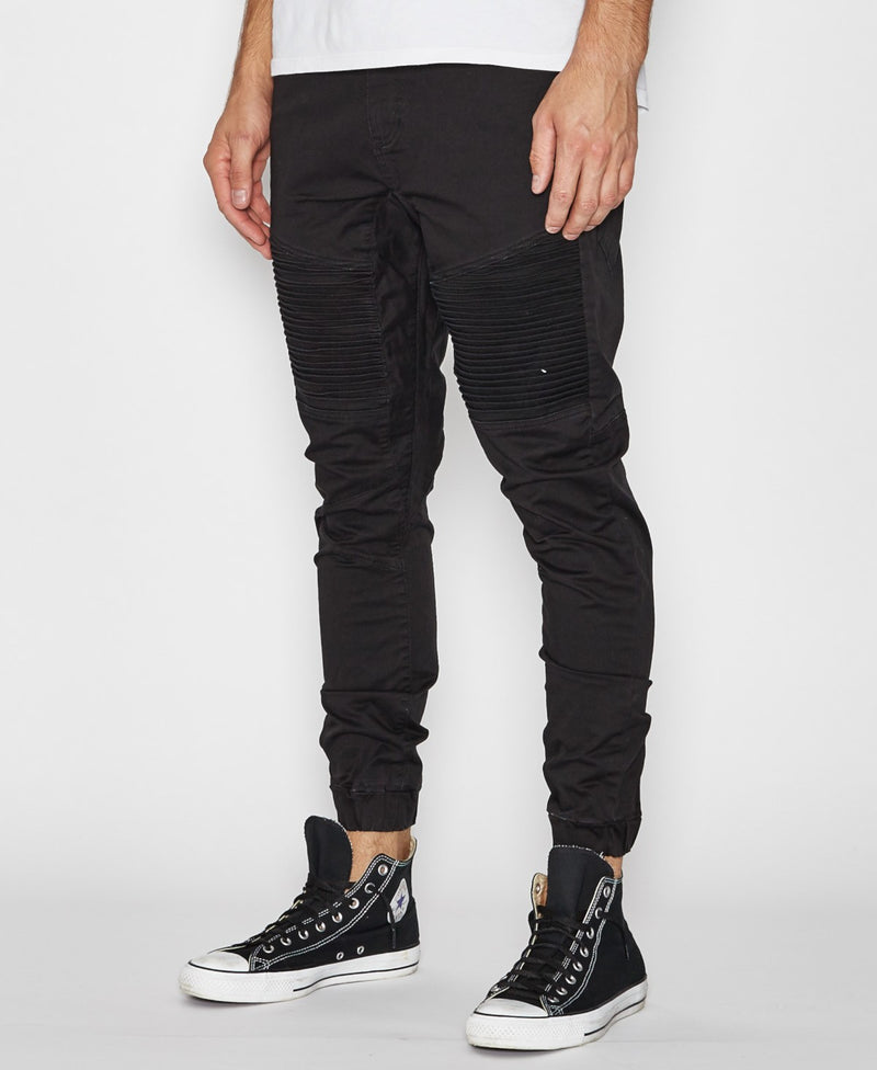 Nena And Pasadena - Destroyer Pant - Jet Black