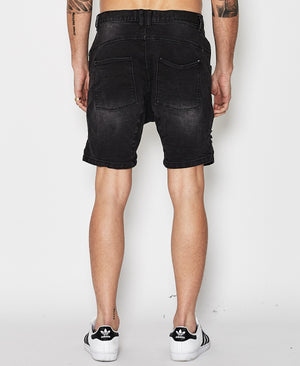 Nena And Pasadena - Flight Shorts - Broken Black