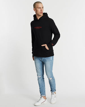 Nena And Pasadena - Freedom Basic Hooded Sweater - Jet Black