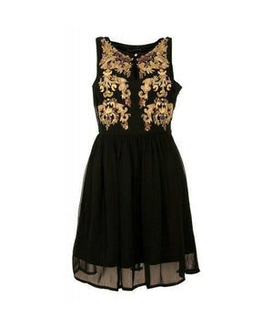 Living Doll - Privileged Dress - Black