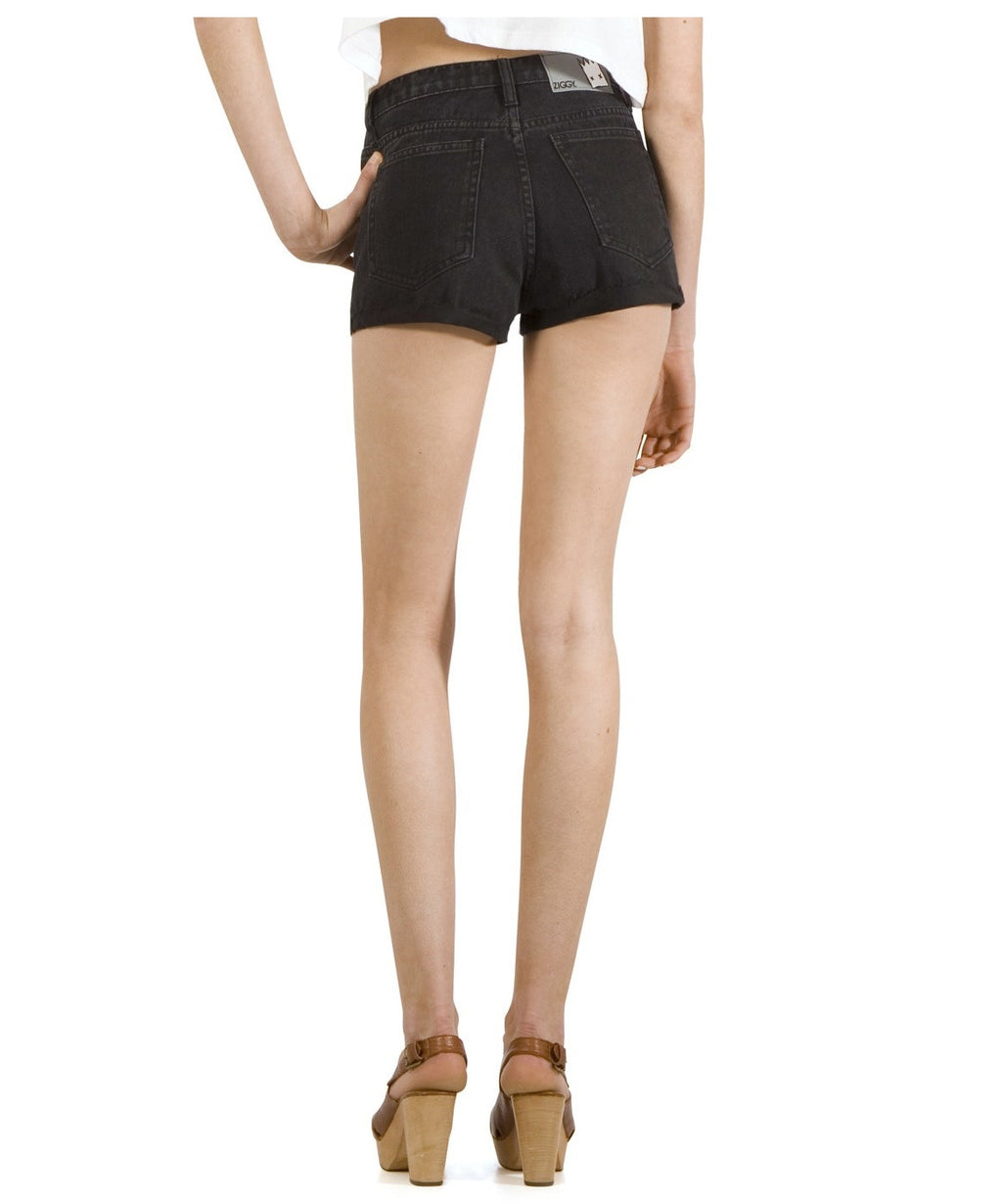 ZIGGY Denim - Rib Warmer Shorts - Black