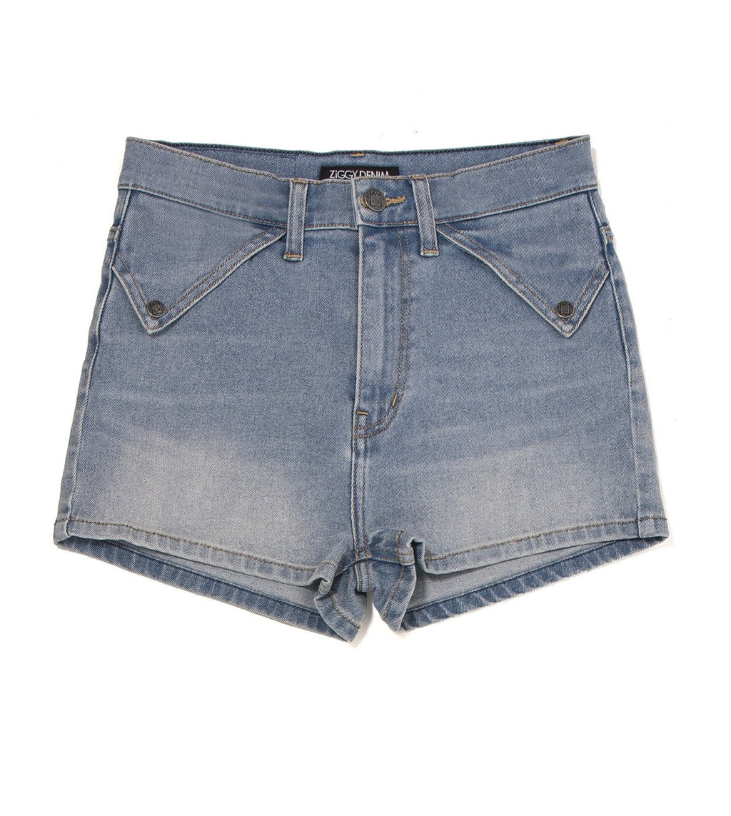 ZIGGY Denim - Rib Warmer Shorts - Blue Monday