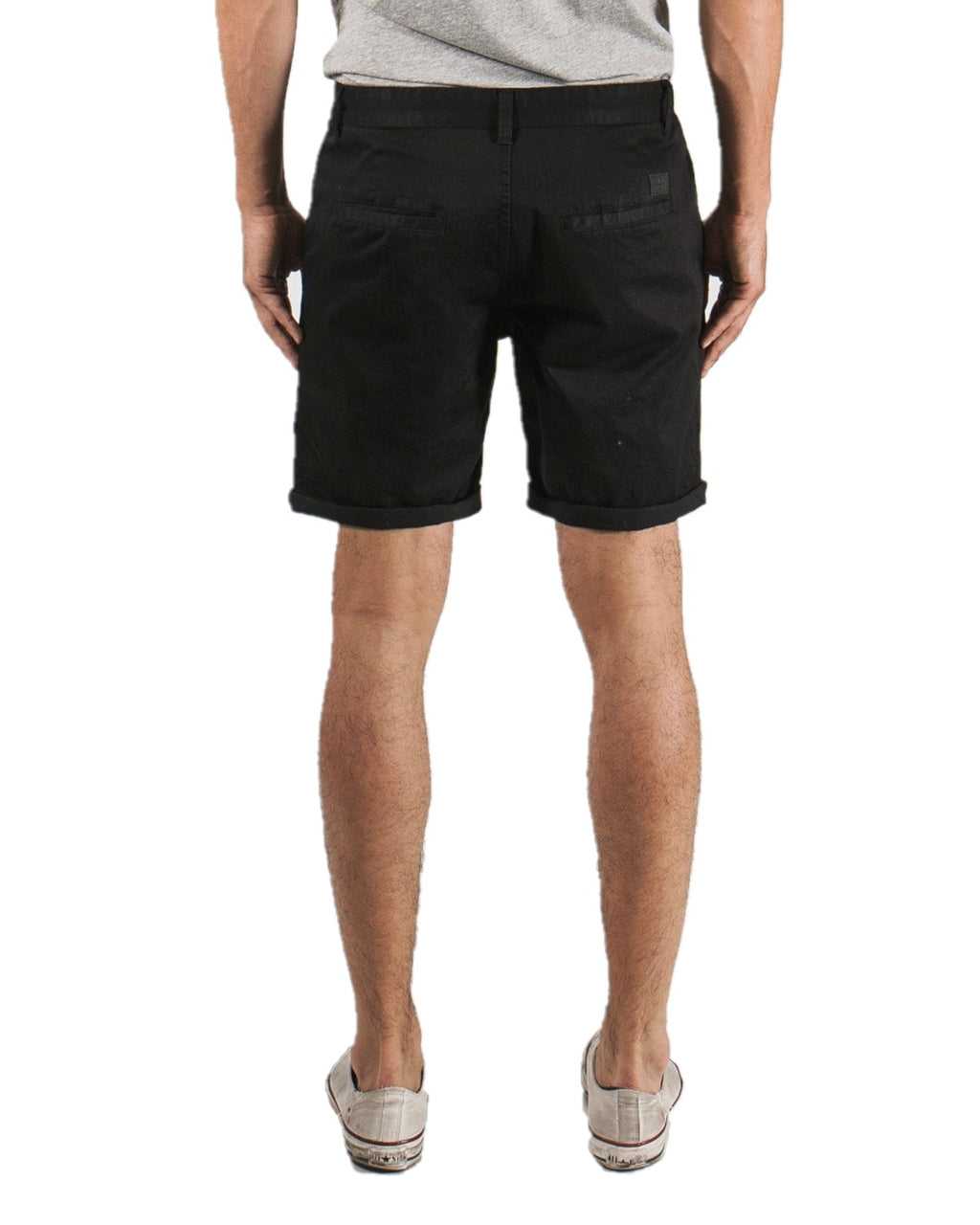 ZIGGY Denim - Slacker Chino Short - Black