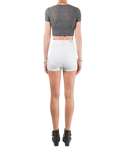 Hill Billy Shorts - White Chop