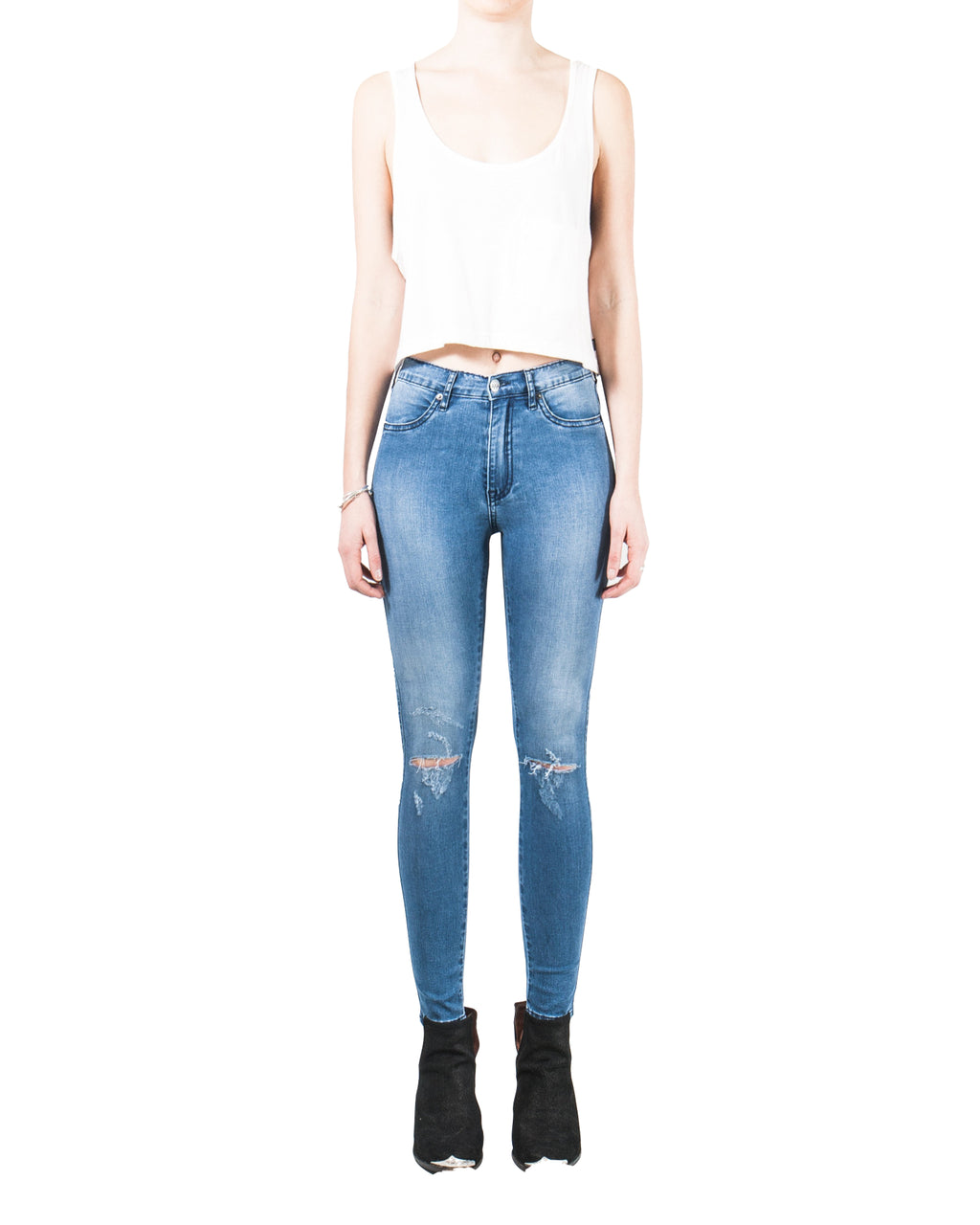 ZIGGY Denim - Swizzle Sticks Jeans - Street Sweeper Slash