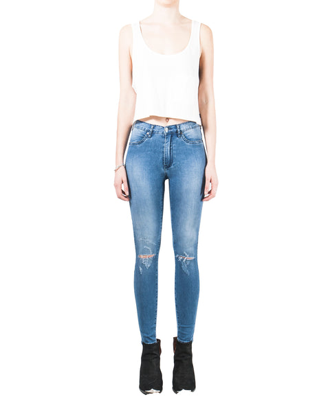 Swizzle Sticks Jeans - Street Sweeper Slash