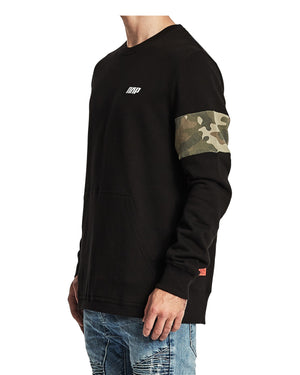 Nena And Pasadena - Bar One Crew Neck Sweatshirt - Jet Black