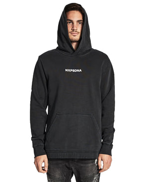 Nena And Pasadena - Chaos Hooded Sweatshirt - Jet Black