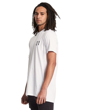 Kiss Chacey - First Step Hem Tall Tee - White
