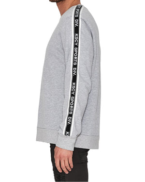 Kiss Chacey - Distance Long Sleeve Sweatshirt - Grey Marle