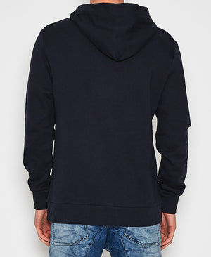 Kiss Chacey - Leader Hooded Sweatshirt - Blue Black
