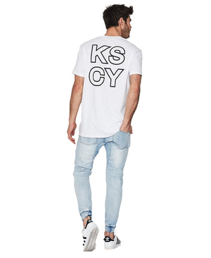 Kiss Chacey - Park Relaxed Fit Tee - White