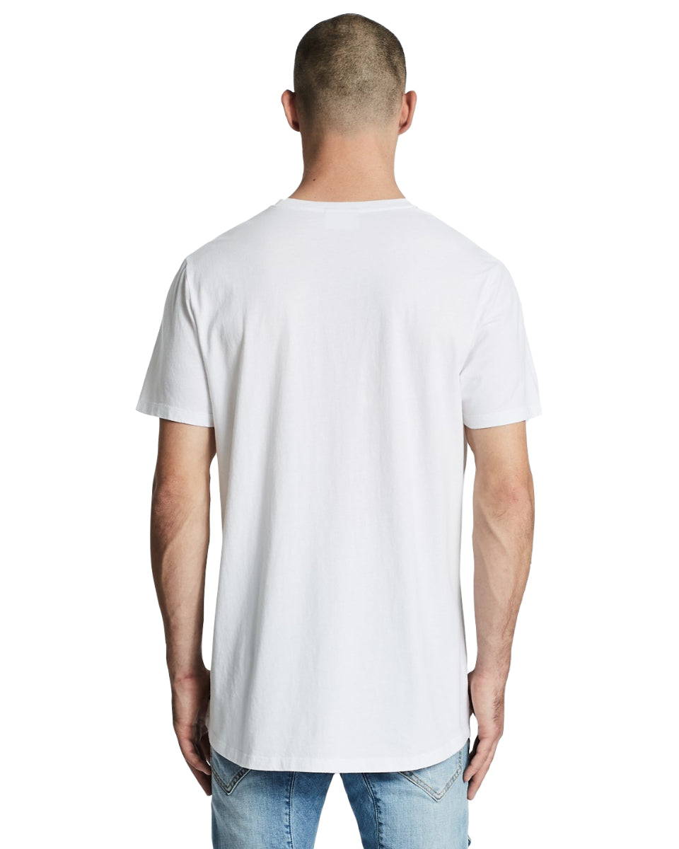 Nena And Pasadena - Ludlow Scoop Back Tee - White