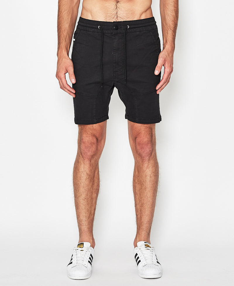 Nena And Pasadena - Commander Shorts - Black Ink