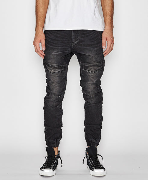 Flight Pants - Heavy Metal Black